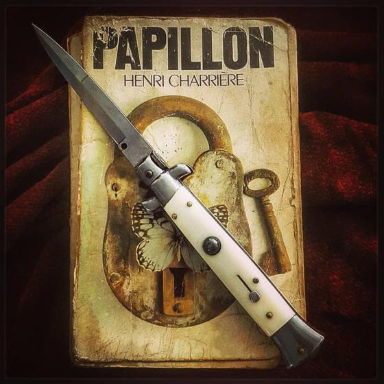 Papillon, one of the first books I read that helped to lead me astray...!