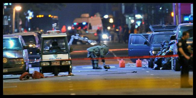 Terrorist Bombing & Explosive Device Incidents