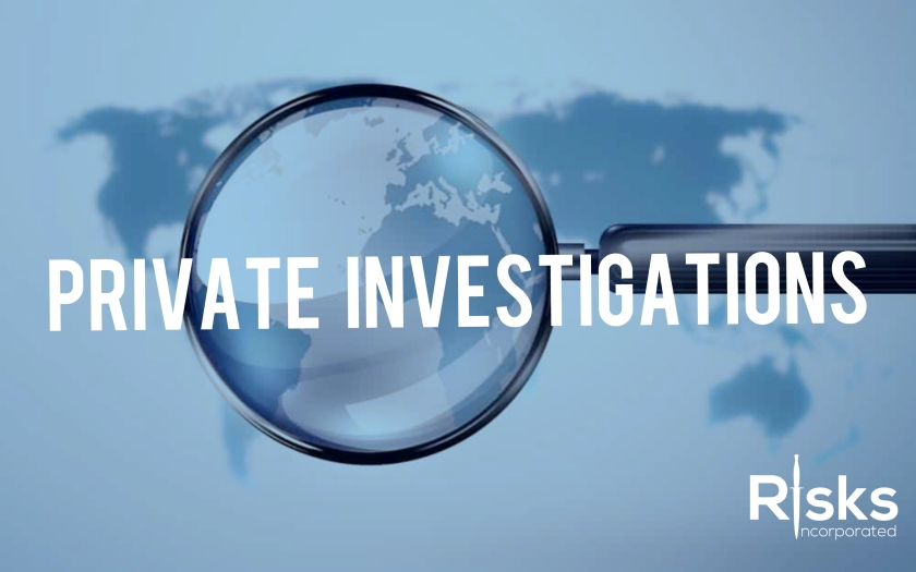 Private investigations services in Miami Florida, London UK, Athens Greece.