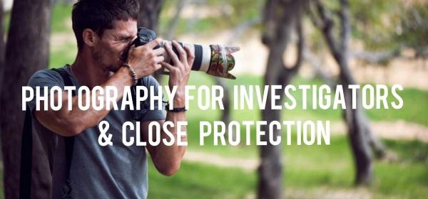 Photography for Private Investigators