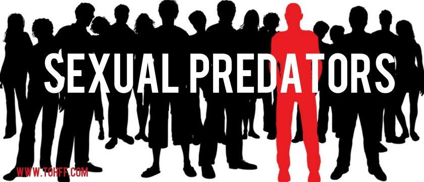 Warning - Sexual Predator Awareness