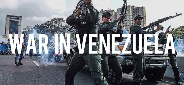 War in Venezuela - Orlando Wilson