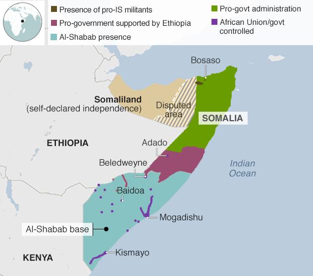 Terrorism & Charcoal Trafficking in Somalia